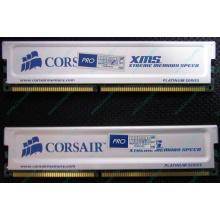 Память 2 шт по 1Gb DDR Corsair XMS3200 CMX1024-3200C2PT XMS3202 V1.6 400MHz CL 2.0 063844-5 Platinum Series (Липецк)