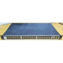 Управляемый коммутатор D-link DES-1210-52 48 port 10/100Mbit + 4 port 1Gbit + 2 port SFP металлический корпус (Липецк)