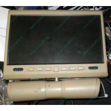 Автомобильный монитор с DVD-плейером и игрой AVIS AVS0916T бежевый (Липецк)
